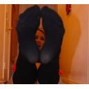 Worn  Stockings